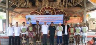 Tahun 2016, BPN Gianyar Gelontorkan 3.800 Prona untuk 19 Kelurahan/Desa