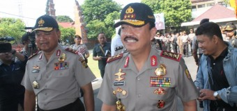 Wakapolri Komjen. Pol. Budi Gunawan Kunjungi Polda Bali