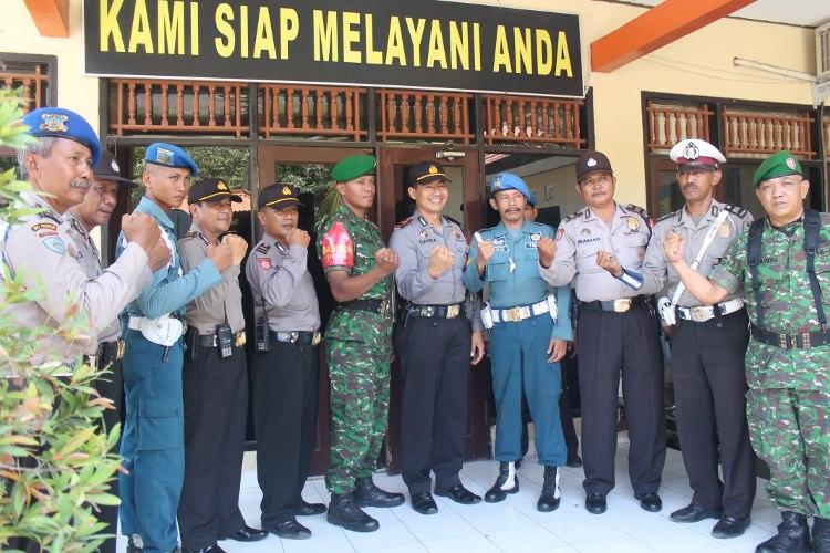 KP3 Benoa dengan pasukan gabungan sebelum operasi rutin