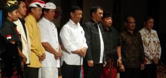 Menkopolhukam Wiranto Buka Rakornas XIII KMHDI di Bali
